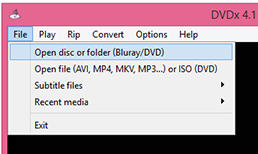 Load disc for playback