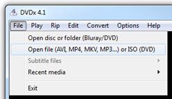 DVDx 4 1 - Recode DVD or Blu-ray rip (MKV files)